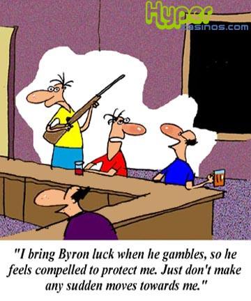 Online casino cartoon