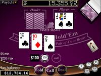 Play free online Caribbean Hold'em Poker