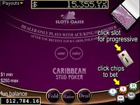 Play free online Caribbean Stud Poker