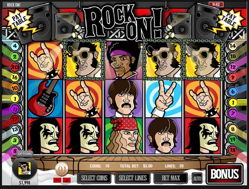Rock On Video Slot