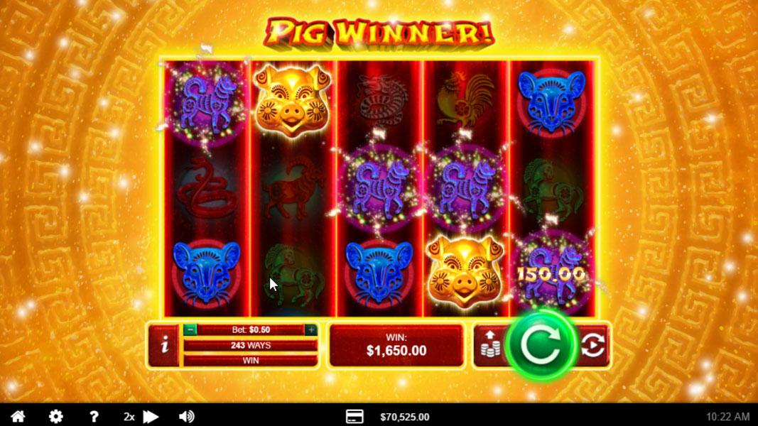Pig Winner Screenshot