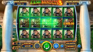 Cash Bandits 3 Casino Slots screenshot