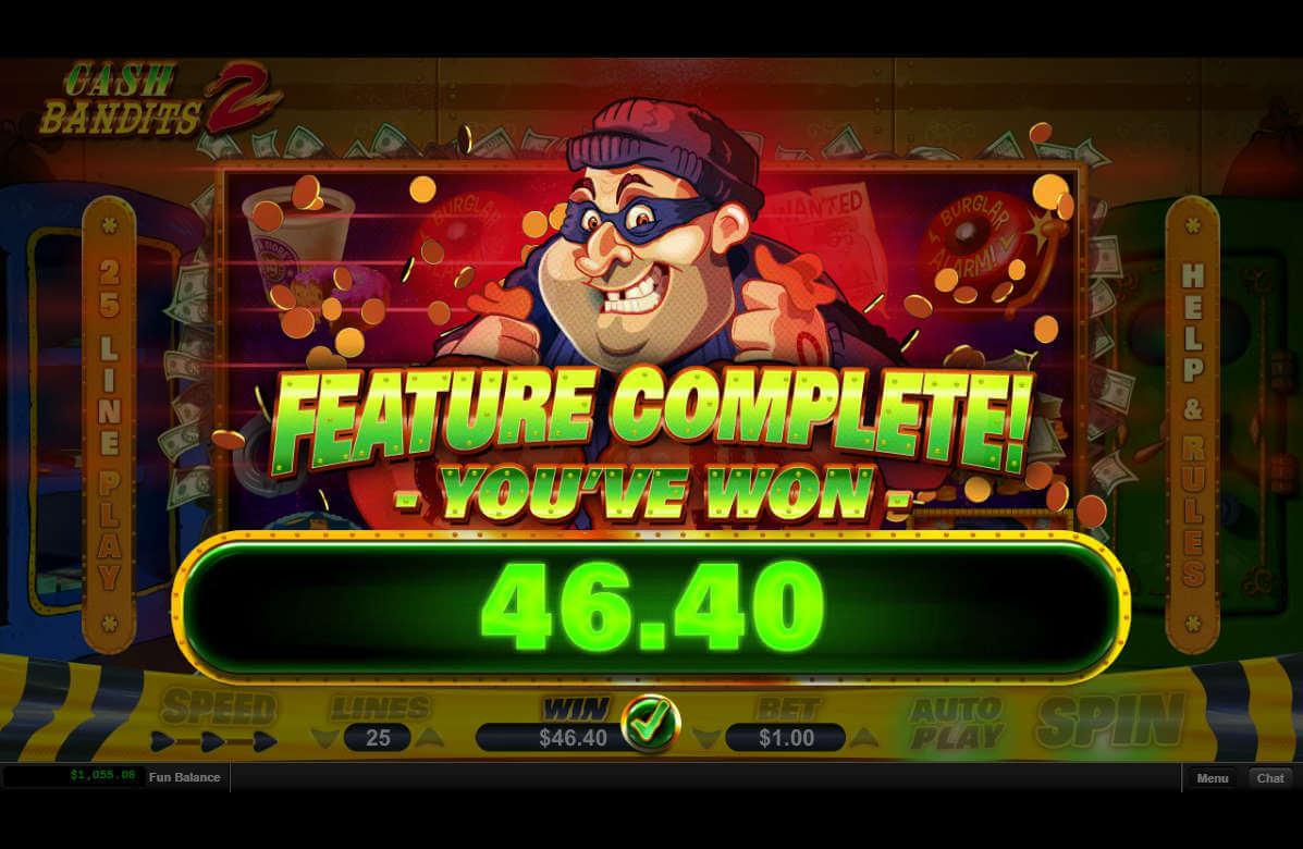 Cash Bandits 2 Big Win