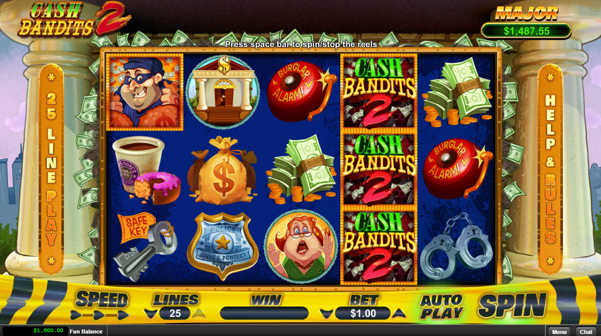 Cash Bandits 2 Gameplay