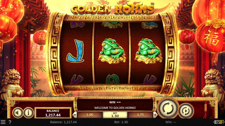 Golden Horns Slot Screenshot