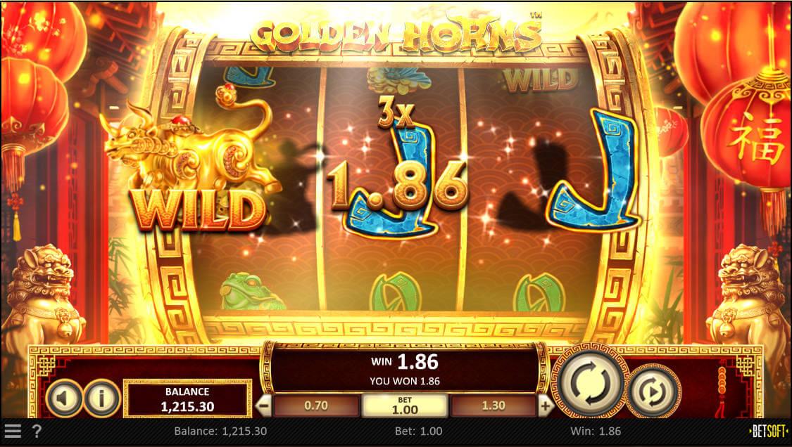 Golden Horns Slot Screenhot