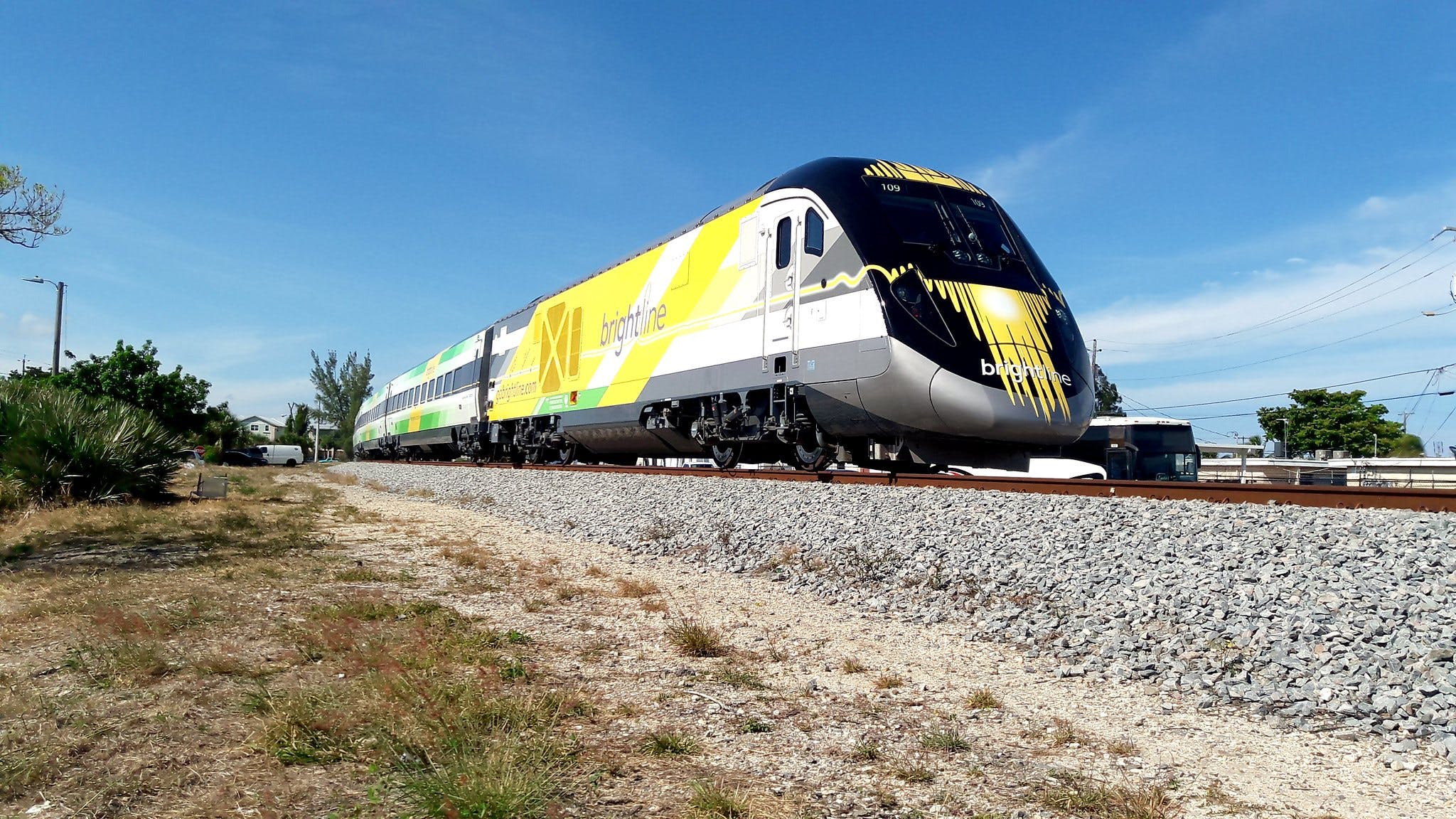 High Speed Rail Line from Cali to Las Vegas
