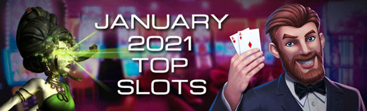 Most played slot games January 2021